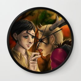 Hannibal - Feeding the Wendigo Wall Clock
