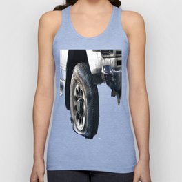 Flat Tire! Unisex Tank Top