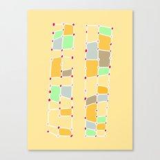 Indoor Constellation  Canvas Print