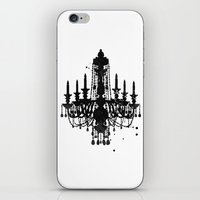 chandelier iPhone & iPod Skins featuring Chandelier by Steven Womack