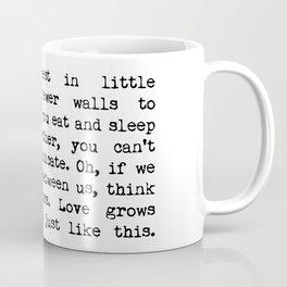 Love Grows Best In Little Houses Coffee Mug