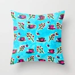 Cuppa For Your Soul Throw Pillow