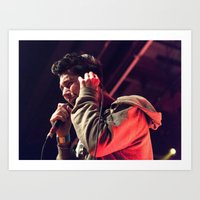 bastille Art Prints featuring Bastille by Adam Pulicicchio Photography