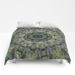 Strawberry Cough Circles Comforters