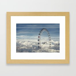 Ride Above the Clouds Framed Art Print