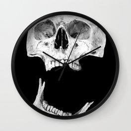 Jaw Drop Wall Clock