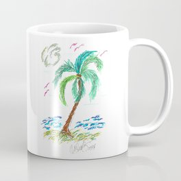 """Beach Afternoon"" Coffee Mug"