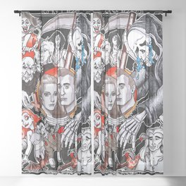 The Fate of the Reaper Sheer Curtain