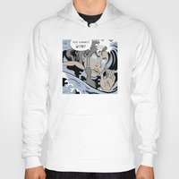 lichtenstein Hoodies featuring Lichtenstein-style Korra by Steph Arts