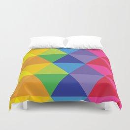 Rainbow Cosmic Universe Duvet Cover