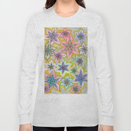Bubble Flowers Long Sleeve T-shirt