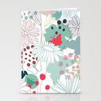 wonderland Stationery Cards featuring Wonderland by Demi Goutte