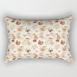 Fawn & Friends Rectangular Pillow