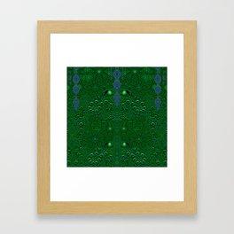 Dragon abstracte skin pattern Framed Art Print