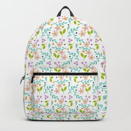 Little Bright Wildflowers Backpack
