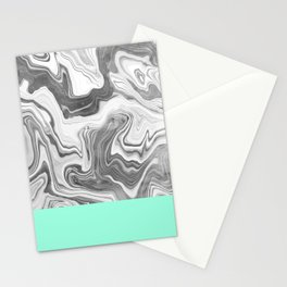 Liquid Sea Stationery Cards
