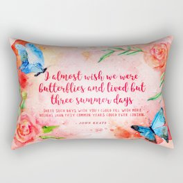 Three summer days Rectangular Pillow