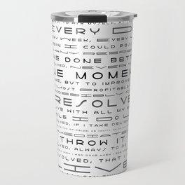 Jonathan Edwards Resolutions Travel Mug