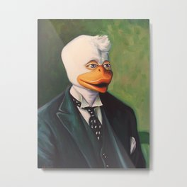 Howard the Duke Metal Print