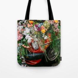 Flower Bomb Tote Bag