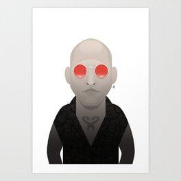 Mickey Knox - Natural Born Killers Art Print
