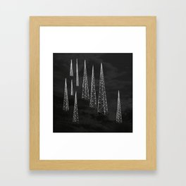 Towers. Framed Art Print