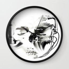 GEAR HEAD SKULL Wall Clock