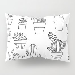 Cacti are friends Pillow Sham