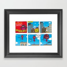 SpiderMec Framed Art Print