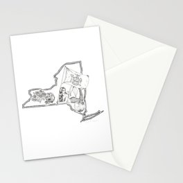 New York Mermaid Stationery Cards