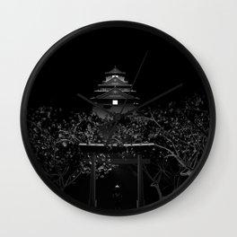 Japan Castle Wall Clock