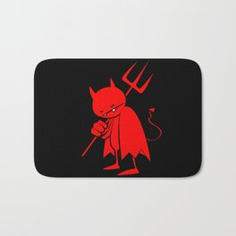 minima - sad devil Bath Mat