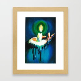 Waxy Framed Art Print