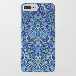 Paisley Blue iPhone Case