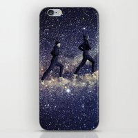 running iPhone & iPod Skins featuring Running by Cs025
