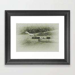 Puffing Billy Framed Art Print