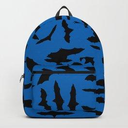 Bats Nebulas Blue Backpack