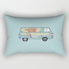 Busted: Mystery Machine Rectangular Pillow