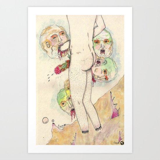 AUTOEXCLUSIÓN Art Print