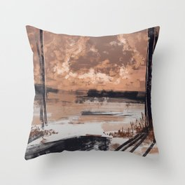 scapes Throw Pillow
