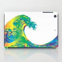 hokusai iPad Cases featuring Hokusai Rainbow_A by FACTORIE