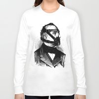 bdsm Long Sleeve T-shirts featuring BDSM XXXX by DIVIDUS
