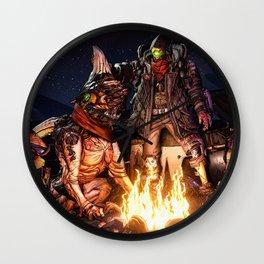 Borderlands Video Game Wall Clock