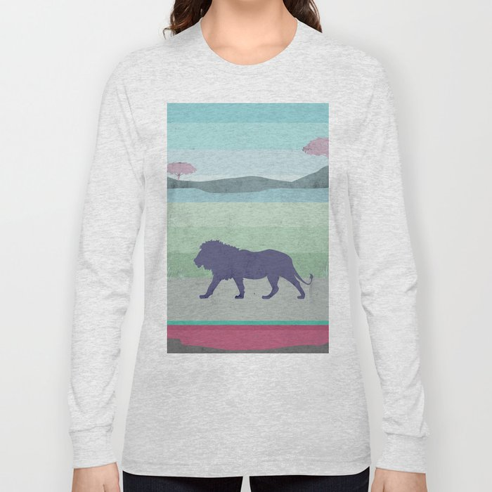 Lions are big kitties  Long Sleeve T-shirt