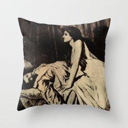 Vampire Stalker Throw Pillow