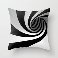 Spin Me Right Round Baby Throw Pillow