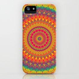 Mandala 507 iPhone Case