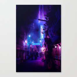 Tokyo Nights / Midnight City / Liam Wong Canvas Print