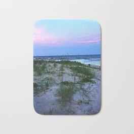 The Beach at dusk Bath Mat