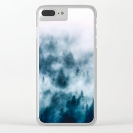 Out Of The Darkness - Nature Photography Clear iPhone Case